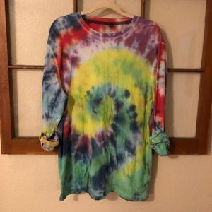 Old Navy • Long sleeve tie dye thermal